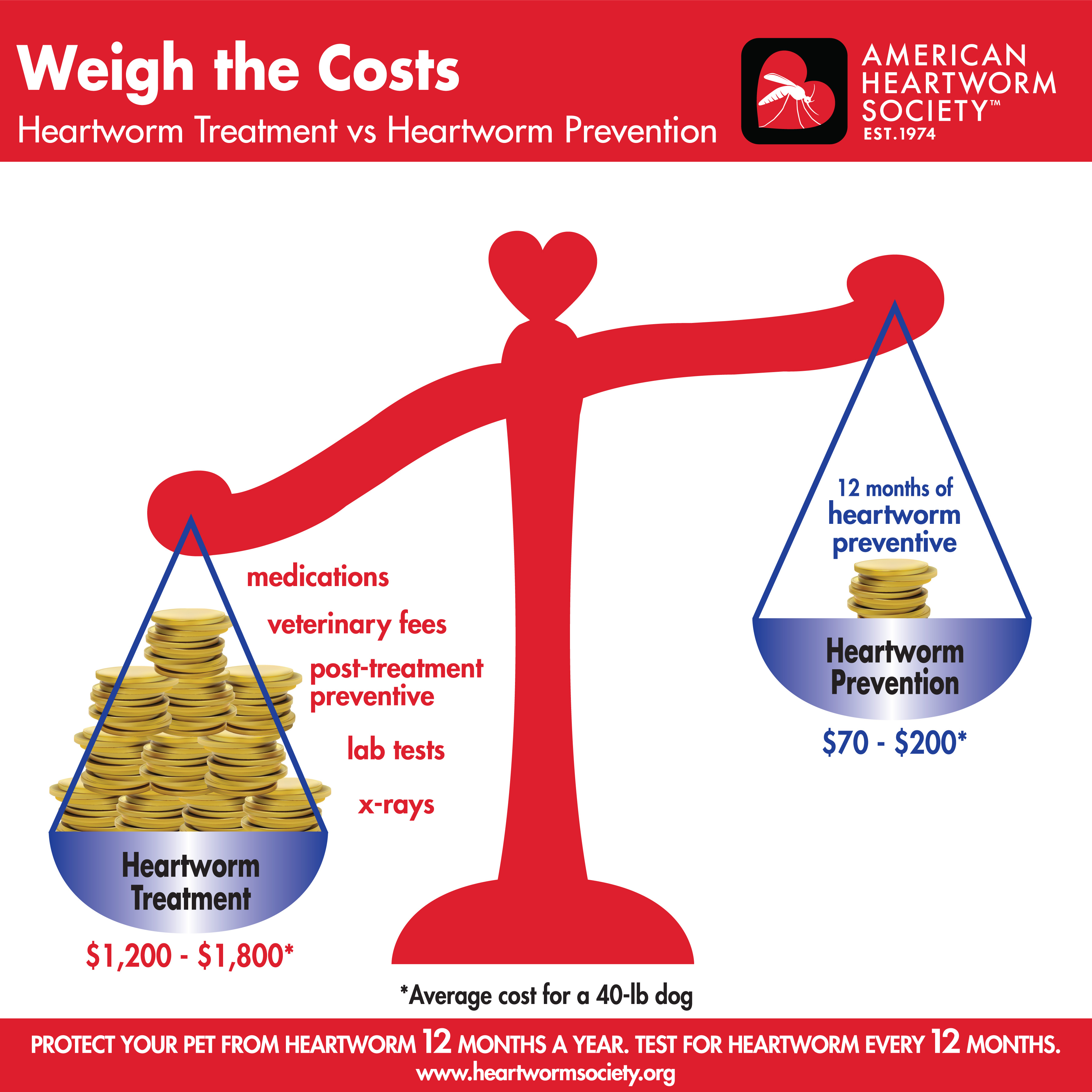 Weigh the costs